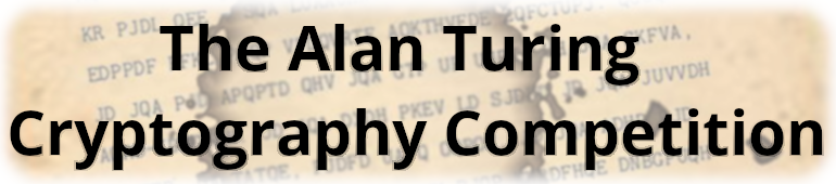 The Alan Turing Cryptography Competition edition 2019