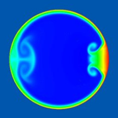 Unsteady fluid flow in a rotating torus (doi:10.1017/jfm.2011.366)